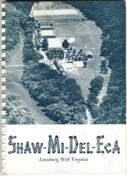 Cover of Camp Shaw-Mi-Del-Eca promotional catalog: 1965